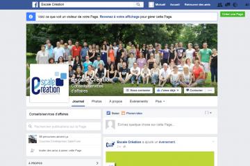 Escale Création facebook
