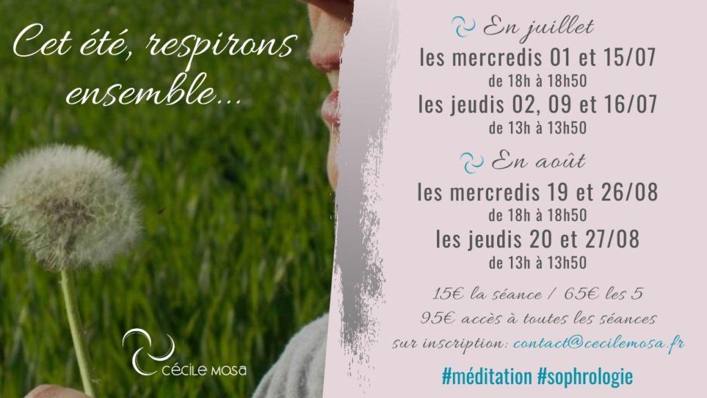 Médiation proposée par Cécile Mosa